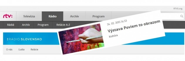 AUDIO: RTVS from exhibition in Medzilaborce (SK only)